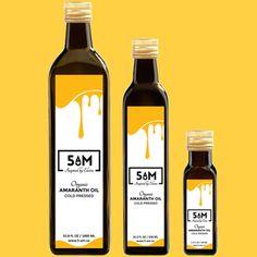 Amaranth oil, organic cold-pressed