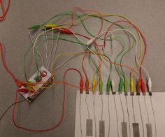 Graphite Piano Keyboard with MaKey MaKey and Scratch 2nd Grade Music, Music Class, Boise State University, Hands On Learning, Learning Piano, Keyboard Piano, Stem Projects, Kids Board, Learn To Code