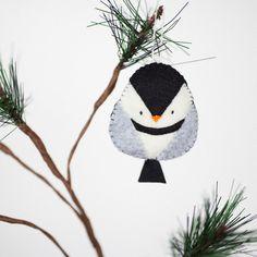 Image result for Handmade Felt Bird Christmas Ornaments #feltornaments