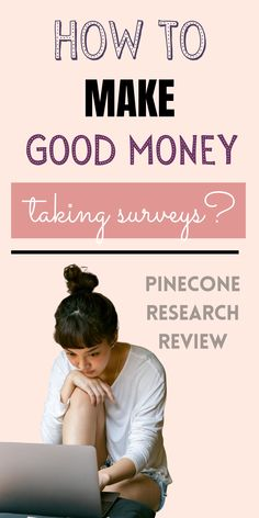 Have you heard of Pinecone Research? They're the best survey site out there, offering $3 per survey. Sign up now to start taking high paying surveys to earn money in your spare time! Make money online by completing surveys, plus figure out how much you can make per survey with our payment calculator! Online side hustles - make money answering questions - legit, best, high paying survey sites. Best Survey Sites, Survey Companies, Make Money Fast, Make Money Online, Life On A Budget, Take Surveys, Cash Prize, Pinecone, Financial Planning
