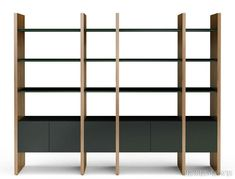 BDI Furniture Semblance Storage System, in Wood by Matthew Weatherly