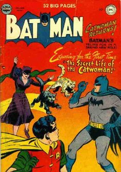 Wanted Post: Batman #62 | FyndIt Need help searching for a rare comic featuring a heroine or villianess? FyndIt can help connect you with people who know where to locate hard-to-find comics and collectibles online and in stores. Get help at www.fyndit.com #Comics #ComicBooks #Collectibles #Batman #Catwoman #Robin #Tiger #Panther