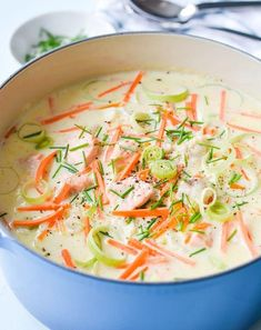 In half an hour you can have fish soup ready EXTRA-Om en halvtime kan du ha fiskesuppa klar Fish Dinner, Seafood Dinner, Swedish Cuisine, Healthy Toddler Meals, Healthy Meals, Spinach And Feta, Slow Cooker Soup, Greens Recipe, Recipes From Heaven