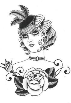 Ms. Rachael, Professional Tattooer: Paintings