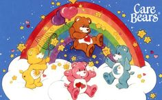 1985. Second Daughter was obsessed with Care  Bears. LOL MY OLDEST LOVED THEM :O)