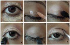 Quick Eye Brightening Eye Makeup Tutorial | My Hijab