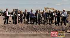 On November St, Ives Realty and Rio Grande Village, LLC, a Dallas based group of national developers held a groundbreaking ceremony for the new Rio Grande Village mixed-use retail site Rio Grande City, Mixed Use, Flood Zone, St Ives, Economic Development, Moving Forward, Dallas, November, Texas