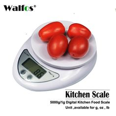 Walfos High Quality 5Kg/1G Digital Kitchen Food Diet Postal Scale Electronic Weight Scales