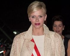 HSH Princess Charlene of Monaco at the opening of the Princess Charlene Foundation, 12/15/12