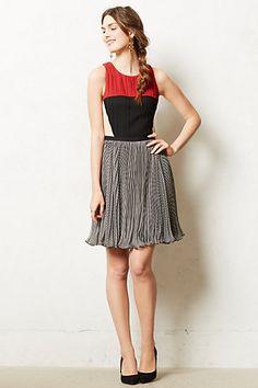 Margot Dress #anthropologie By Greylin Side zip Polyester, spandex; polyester lining