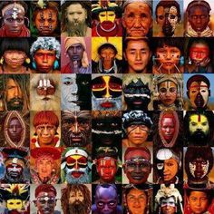 Different people around the world