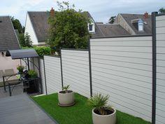 Pose de clôture composite