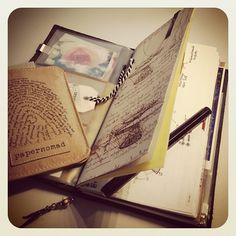 Cover for Patrick's Chronodex in Travelers Notebook by Koerby, via Flickr