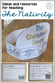 Ideas and resources perfect for teaching your class all about the Nativity this Christmas season! Christian Christmas Crafts, Christmas Bible, Preschool Christmas, Christmas Activities, Christmas Crafts For Kids, Christmas Ideas, Christmas Sunday School Lessons, Sunday School Activities, Sunday School Crafts