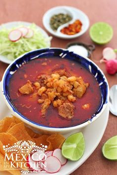 Step by step photo tutorial to guide you in the process to cook the BEST pot of red pozole! If you have tried Pozole before, you know it is a tasty, filling, and above all, a nutritious soup. We usually eat this soup for dinner, and it's a classic dish in Mexican Fiestas during the cold nights of winter. It is a favorite dish that must show off at the Noche Mexicana Fiesta this Independence day. Nothing more Mexican than a Pozole!