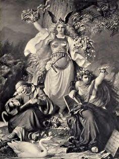 Skuld, Urd & Verdandi, known as The Norns