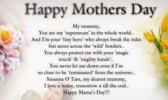 Here are the best mothers day sms wishes and quotes. Make your mom smile on this Mothers Day using these amazing sms wishes and celebrate the mothers day. Sweet Mothers Day Messages, Mothers Day Status, Happy Mothers Day Wishes, Happy Mothers Day Images, Mother Day Message, Happy Mother Day Quotes, Happy Mother's Day Card, Funny Mothers Day, Mother Quotes
