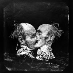 View The Kiss by Joel-Peter Witkin on artnet. Browse more artworks Joel-Peter Witkin from Greenwich Fine Art. Joel Peter Witkin, Still Photography, Vintage Photography, George Romero, Master Of Fine Arts, True Art, Museum Of Fine Arts, Macabre, Dark Art