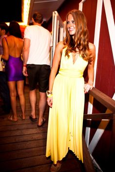 At the Shark Attack Sounds party in Montauk.  (Photo by Masha Maltasava)