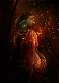 Mahabharatham - The Great Indian Epic. I think this is a whole series Lord Krishna Images, Radha Krishna Pictures, Krishna Painting, Krishna Art, Radhe Krishna, Krishna Lila, Shree Krishna, Image Hd, Radha Krishna Wallpaper