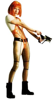 Absolutely love the extreme looks from the Fifth Element. Jean-Paul Gaultier produced 954 costumes for the film. (Leeloo)