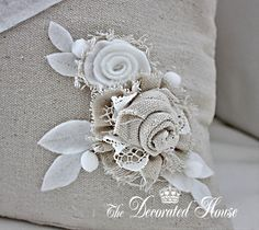 The Decorated House: ~ Fabric Flowers