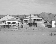 Lobitos, Talara, Peru. Old industrial camp