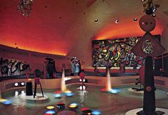 ミロの壁画 ガスパビリオン the Gas Pavilion at Expo 70 Osaka