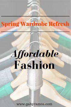 Affordable Spring  Wardrobe Refresh from 599Fashion via www.gabyramos.com