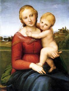 Raffaello Sanzio, La Piccola Madonna Cowper , 1504-1505, National Gallery of Art di Washington.