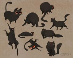 Character Design Collection: Cats