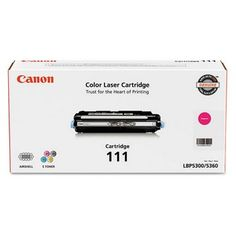 GENUINE Canon CRG-111 Magenta Toner Cartridge produces 6,000 pages yield @5% coverage with Canon imageCLASS MF9150c/ MF9170c Color Laser Multifunction Printer.