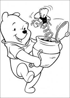 Pooh coloring pages
