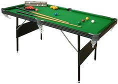 Foldable 2 In 1 Crucible Pool Snooker Table 6ft