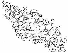 free-flower-tattoo-stencils--image-stunning.jpg 1,024×813 pixels