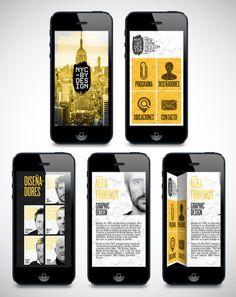 NYCxDesign - New York Design Week by Jous Lara, via Behance