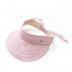 1ae7298850021 Navy and blue striped sun visor cap for women riding bow summer sun hats