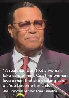 Say it again Farrakhan!