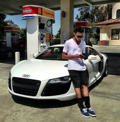 Nyjah Huston Audi R8 | yum.