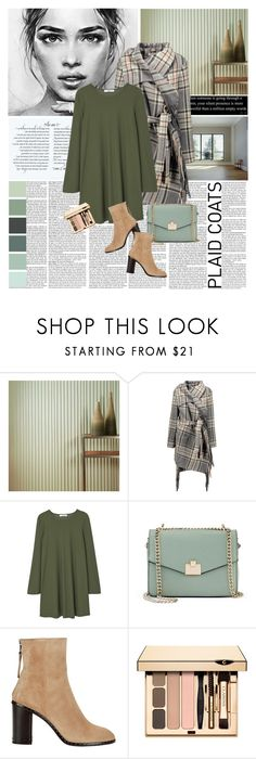 """Plaid Coats"" by tamara-p ❤ liked on Polyvore featuring Fasade, Chloé, MANGO, Jennifer Lopez and rag & bone"