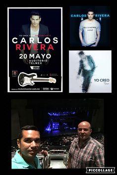 Viernes de concierto con Carlos Rivera, el Rey León!!! 20/05/16