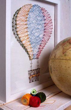 Воздушный шар, картина