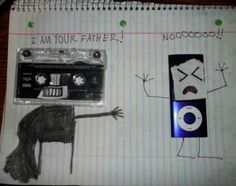 Twitter / RemineArt: Musical device evolution.