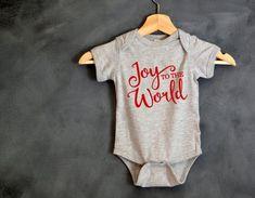 Joy to the World Baby Onesie