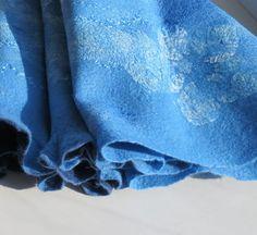 Women felted scarf  Felt merino scarf felt   wraps  by EshaCraft