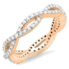 Share for $20 off your purchase of $100 or more! 0.65 Carat (ctw) 14K Rose Gold…