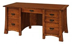 Morgan Pencil Desk Office Furniture Desks - Amish Furniture - We have over 100 Solid American cherry and Oak Amish furniture items. Our store is located in the heart of Amish Country. Find custom quality furniture at affordable prices. Amish Crafts, Furniture Sale, Desk, Furniture, Wood Furniture, Home Office Furniture Design, Wooden Desk, Amish Furniture, Desk With Drawers