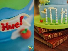 Hue's Adventure Time Themed Party – Cake Details