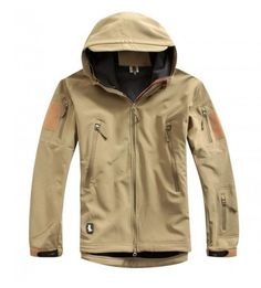 call of duty Soft Shell tactical Ghost Jacket Tan