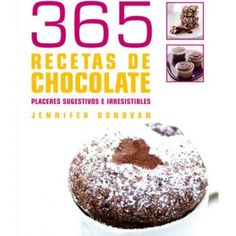 "Libro ""365 recetas de chocolate"""